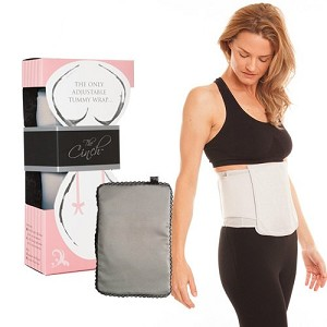 Cinch Signature Tummy Wrap with Cold/Warm Compression Pack