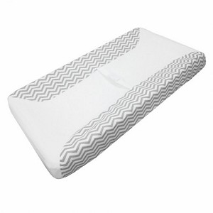 ABC Changing Pad Cover - Zig Zag