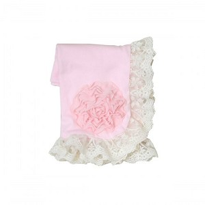 Haute Baby Pink Lullaby Blanket