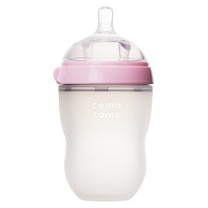 Comotomo 8oz Baby Bottle - Pink