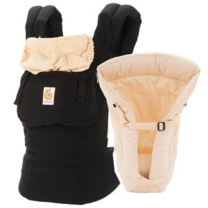 Ergo Bundle of Joy Set - Black & Camel
