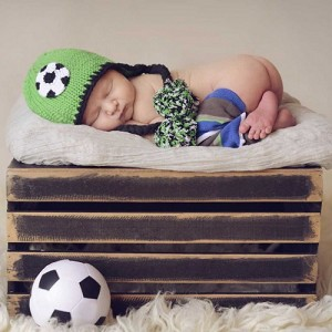 Little Champ Soccer Beanie Hat