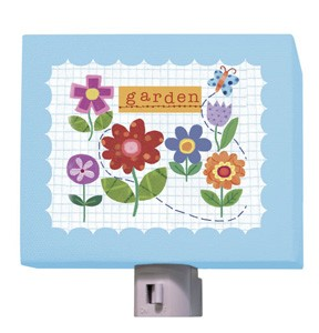 Flower Garden Night Light