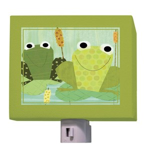 Friendly Frogs Night Light