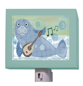 Musical Manatee Night Light