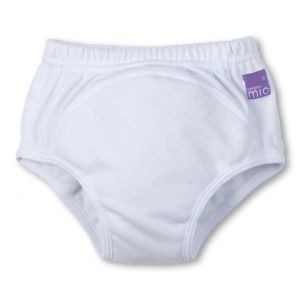 Bambino Mio Training Pants - White