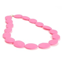 Chewbeads Hudson Necklace - Punchy Pink