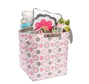 Zinnia Rose Large Storage Bin
