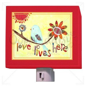 Love Lives Here Night Light