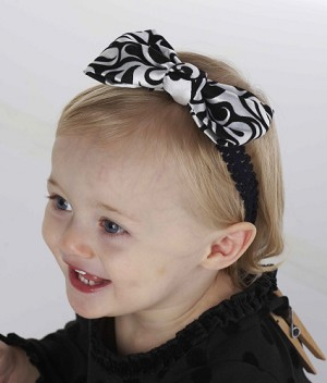 Mud Pie Diva Damask Soft Headband